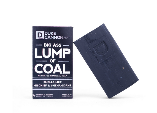 Duke Cannon - Big Ass Brick of Soap - Lump of Coal