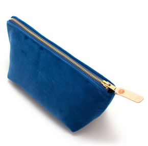 Velvet Travel Clutch - Pick Your Color