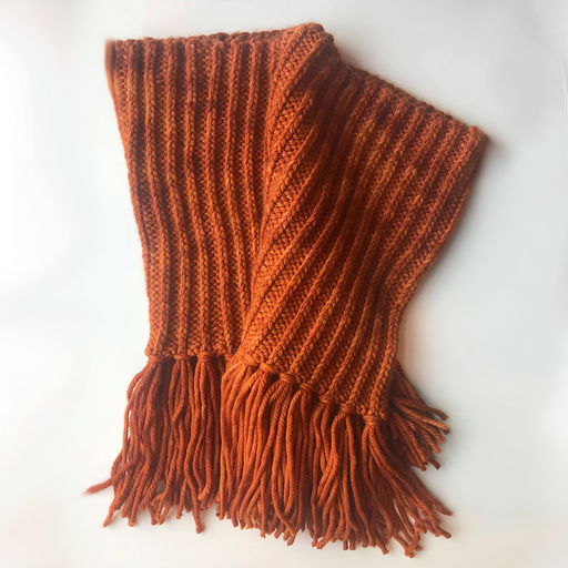 Shawl-Cowl w/ Yarn Fringe - Pick Your Color