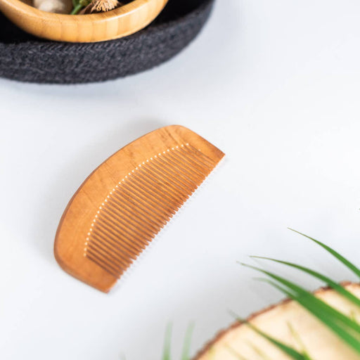Beard Comb - Light wood
