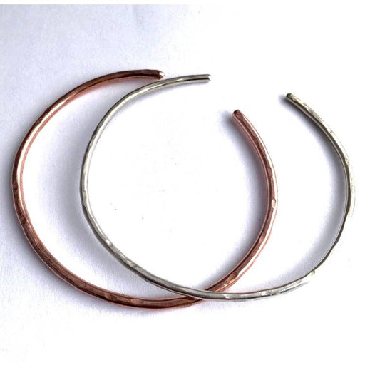 Lucky Horseshoe Single Cuff - Copper