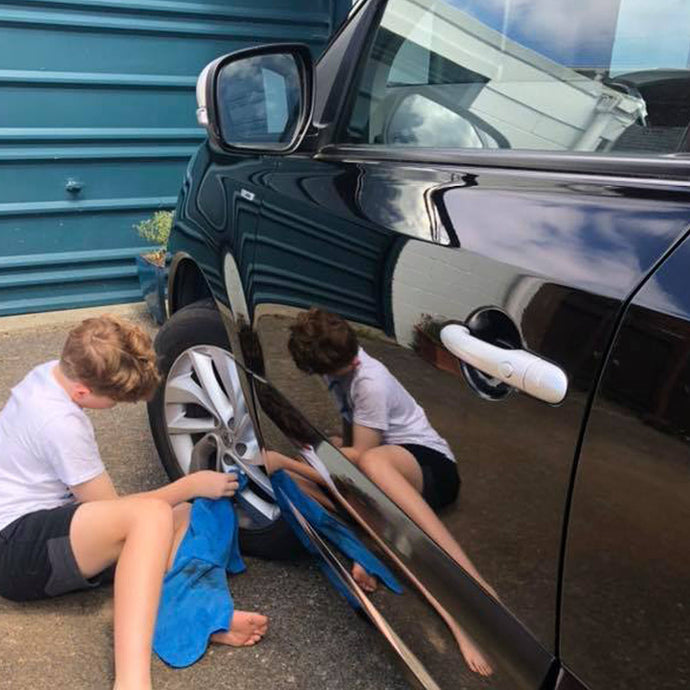 5 steps to getting your kids to clean the car after a road trip