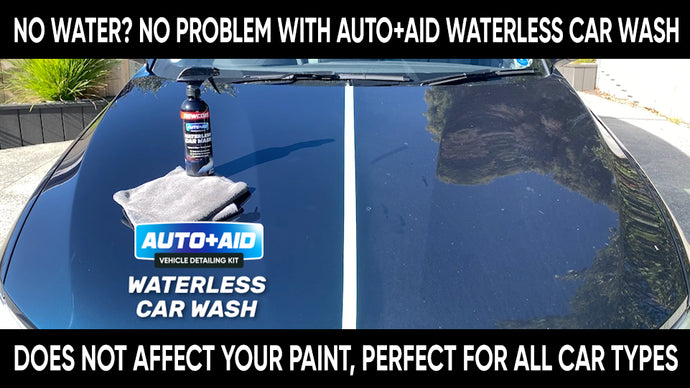How to conserve water while cleaning your car?