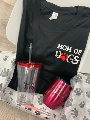 Mothers Day Gift Set- Mom of Dogs