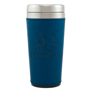 Leatherette Stainless Steel Travel Tumblers
