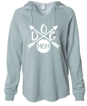 Dog Mom Super SOFT V-Neck Sweatshirts
