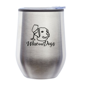 Wine and Dogs Wine Tumblers