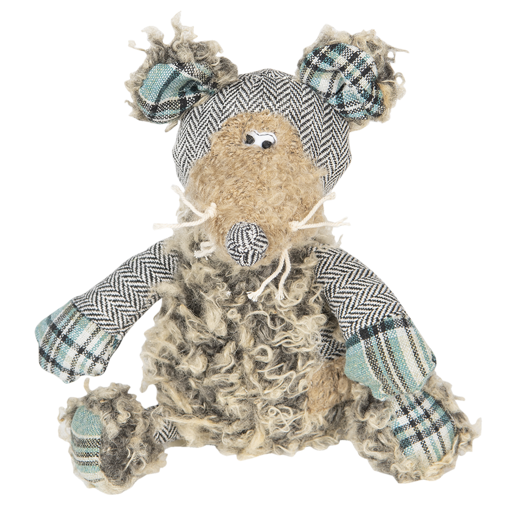 Shabby Chic | Crazy Quilt Muis Martien 26 cm