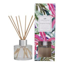 Greenleaf Geurstokjes | Reed Diffuser Tropical Orchid - orchidee ananas ylang-ylang musk