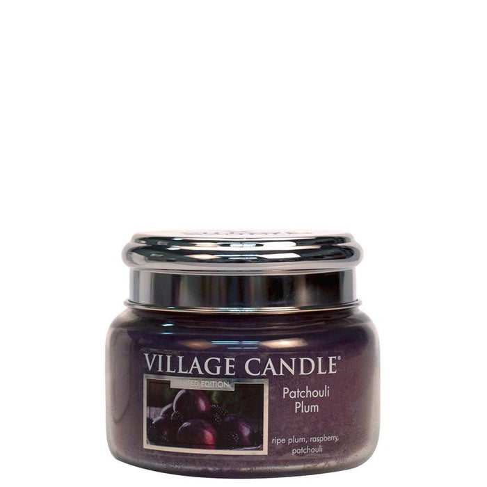 Village Geurkaars Patchouli Plum | pruim framboos patchouli - small jar
