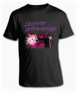 This beautifully designed Lelouch Lamperouge Anime Tee is made of 100 percent cotton. The character is infused  into the shirt by a new state-of-the-art sublimation process that makes colors more alive and vibrant.