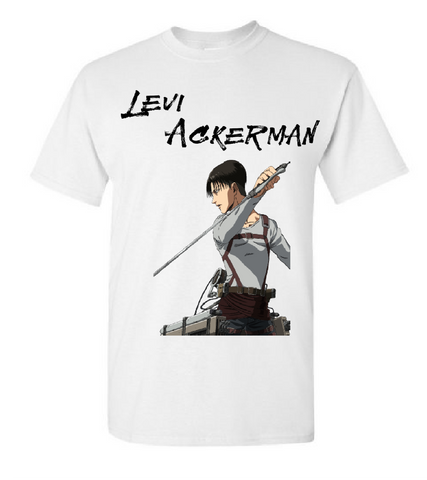Levi Ackerman T-Shirt | Queens of OC T-Shirts