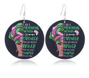 Phenomenal Woman Earrings