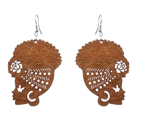 Wrapped Goddess Earrings