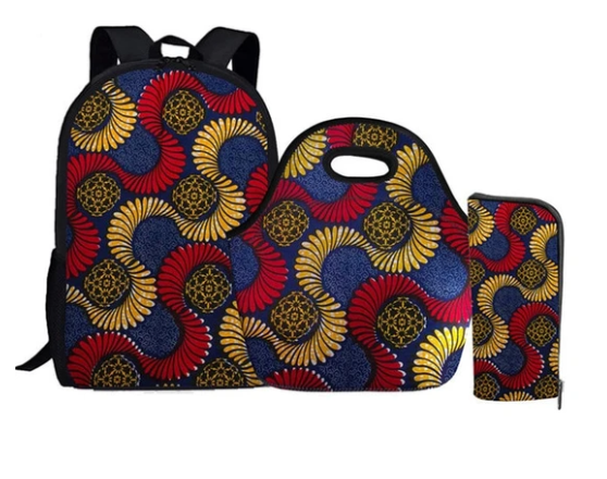 Ankara High School/Collegiate Set (backpack, purse and pencil case)
