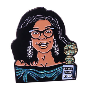 Oprah Golden Globes Lapel Brooch