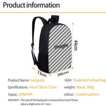 Load image into Gallery viewer, Black Queen School Bag/Travel Bag Set (Sold as Set or Separately)