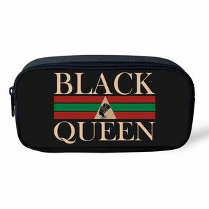 Black Queen School Bag/Travel Bag Set (Sold as Set or Separately)