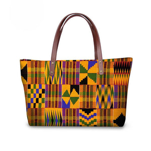 Kente Chic Fashion Bag and Wallet