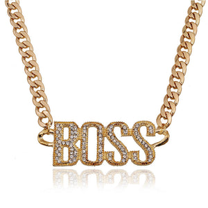 Boss Chain (Gold or Silver Plated)