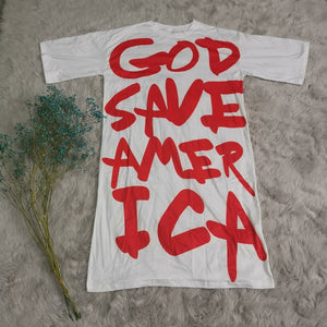 Prayer for American Salvation Fashion Dress