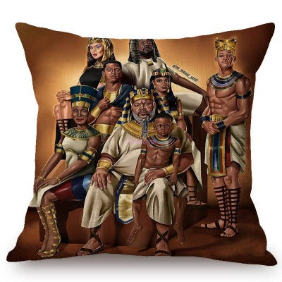 The Royal Family Art Pillow Case