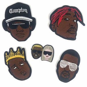 Classic Hip Hop Iron-On Patch
