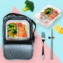 Load image into Gallery viewer, Black Princess Insulated 2020 Back-to-School Lunch Bag