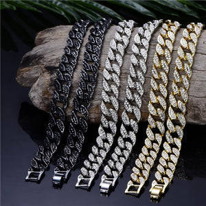 Cuban Chain (Gold or Silver Plated)
