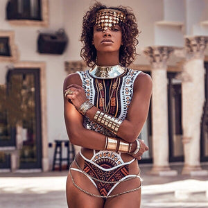 Queen of the Nile Fashion Swimsuit