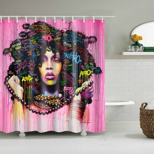 This Is My Hair Shower Curtain