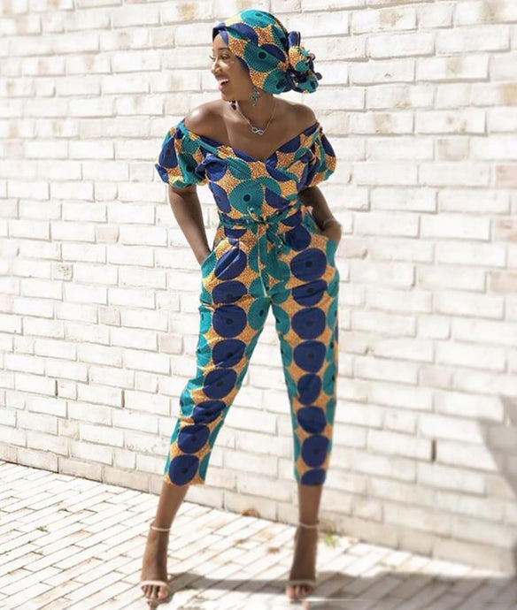 Premium Ankara Active Suit (Suit only)