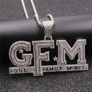 Trifecta GFM Chain (Gold or Silver Plated)