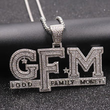 Load image into Gallery viewer, Trifecta GFM Chain (Gold or Silver Plated)