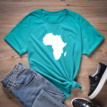 Load image into Gallery viewer, African Continent Tshirt