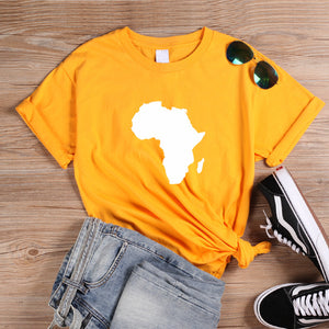 African Continent Tshirt