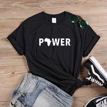 Load image into Gallery viewer, Power of Africa Tshirt