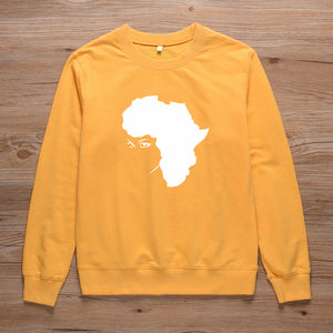 Africa Motherland Natural Sweatshirt