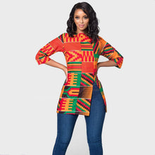 Load image into Gallery viewer, Dashiki Extended Sleeve Casual Top
