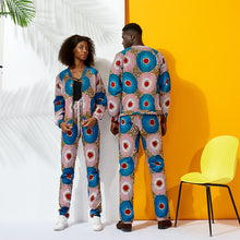 Load image into Gallery viewer, Ankara Chic Trendsetter Fashion Tracksuit