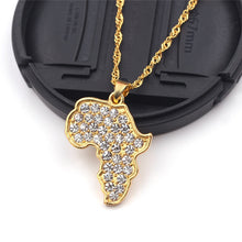Load image into Gallery viewer, 24K Gold Plated Motherland Necklace Collection