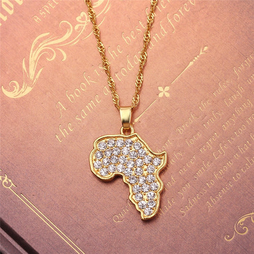 24K Gold Plated Motherland Necklace Collection