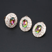 Load image into Gallery viewer, Faberge Jewelry Set (Gold or Silver Plated)