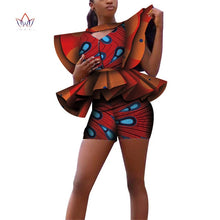 Load image into Gallery viewer, African Regal Show Stopper Fashion Shorts Runway Set