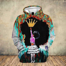 Load image into Gallery viewer, Empower a True Queen Hoodie