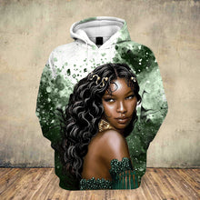 Load image into Gallery viewer, Natural Queen Meditation Hoodie