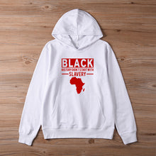 Load image into Gallery viewer, Black History Lesson Hoodie