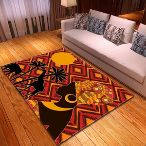 Decorative Contemporary Africa Rug Collection