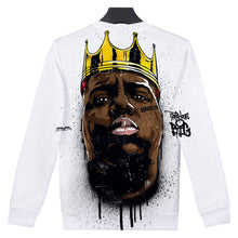 Load image into Gallery viewer, Notorious B.I.G. Black King Sweatshirt