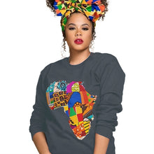 Load image into Gallery viewer, Fashion Ankara Africa Sweatshirt